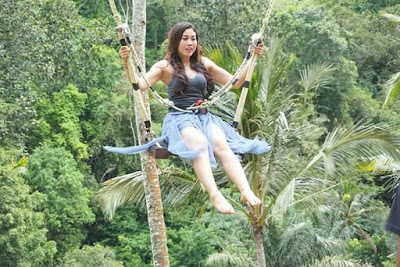 Jungle swing Bali