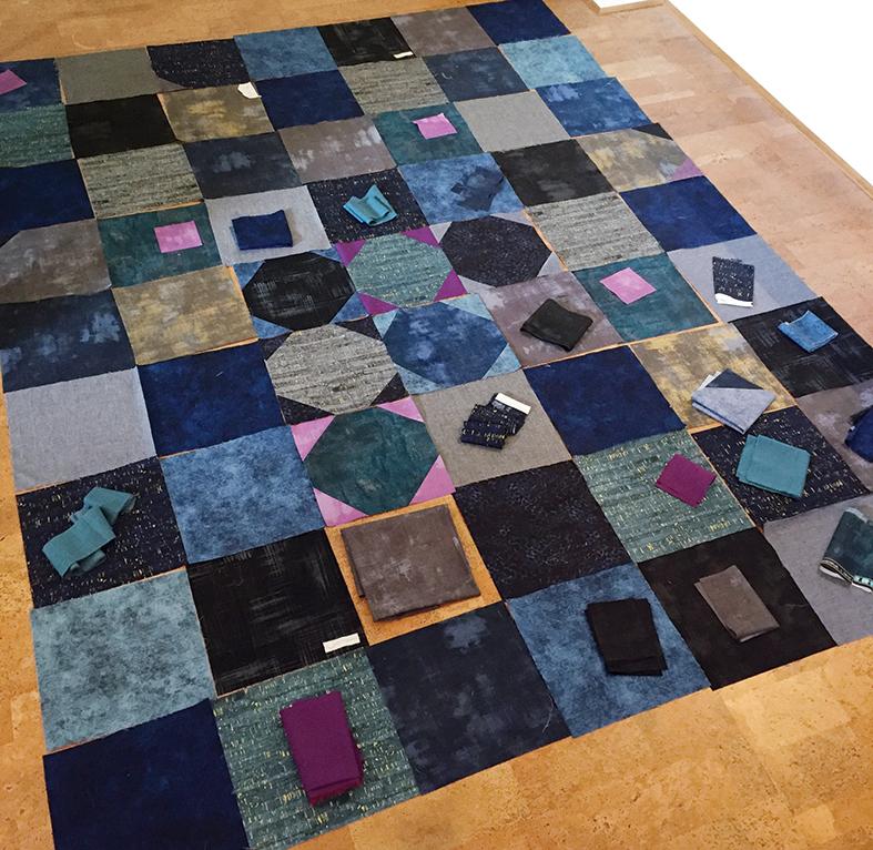 Making real quilt progress