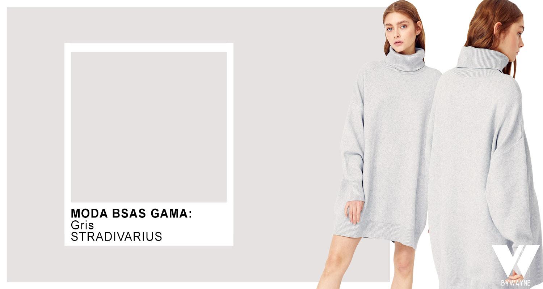 Gris color de moda otoño invierno 2021