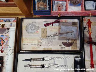 souvenirs canetas tinteiro roma trastevere guia brasileira - Souvenirs alternativos em Roma