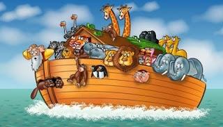 Cap, ja que va ser Noè qui va omplir d'animals l'arca.
