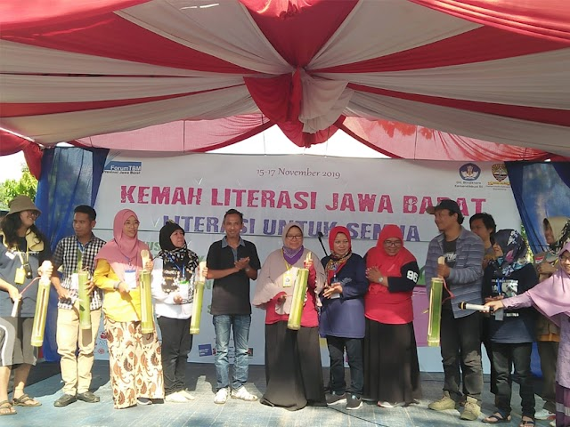 Resmi Dibuka, 200 Lebih Peserta Mengikuti Kemah Literasi Jawa Barat 2019