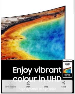 Cara Screenshot Samsung A7  Tanpa Tombol 2