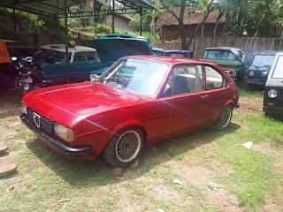 Bahan Italian Job Alfa Romeo Alfa Sud Custom Coupe 1975
