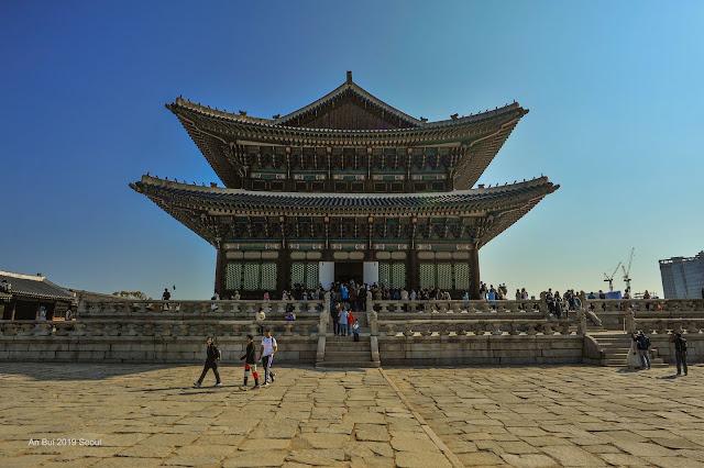 Hoàng cung Gyeongbokgung Seoul