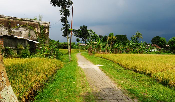 Kondisi Jalan Menjelang Fort Willem I