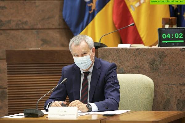 El consejero Franquis destaca el impulso a la construcción y rehabilitación que supondrán los 181 millones de euros del Plan de Vivienda de Canarias en 2021