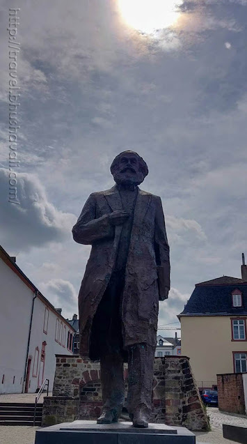Free things to do in Trier - Karl Marx Statue