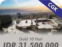 Umroh Gold 10 Hari Berangkat Jakarta