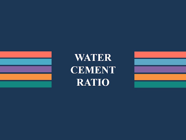 Law of Water-Cement Ratio With Formulas