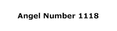1118 angel number
