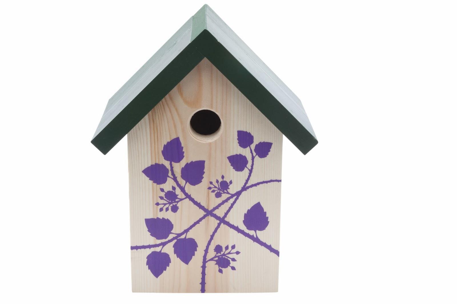Bramble Nesting Box For Birds