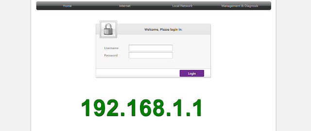 192.168.l.l تسجيل الدخول اتصالات - صفحة اعدادات الراوتر