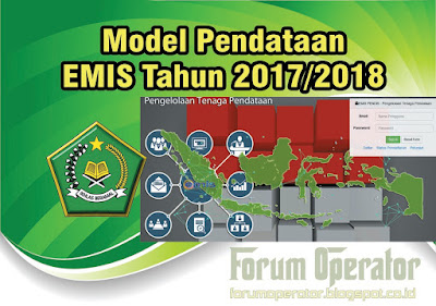 Model Pendataan EMIS Tahun 2017/2018