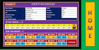 UpDat Aplikasi Laporan Bulanan 2018 Berbasis Excel Buatan Khairil Amri