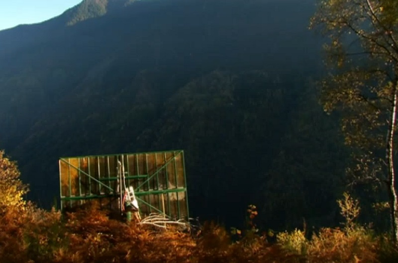 Viganella - An Italian Village that Brought the Sun Down to the Valley by Installing a Giant Mirror