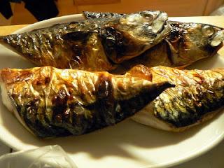 酒の肴 焼き魚 焼きサバ