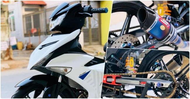Yamaha Exciter 150 độ phong cách đơn giản, tiềm ẩn hiệu năng mạnh mẽ