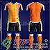 Áo bóng đá không logo Zuka TV màu cam