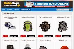 Koleksi Template Toko Online Seo Responsive