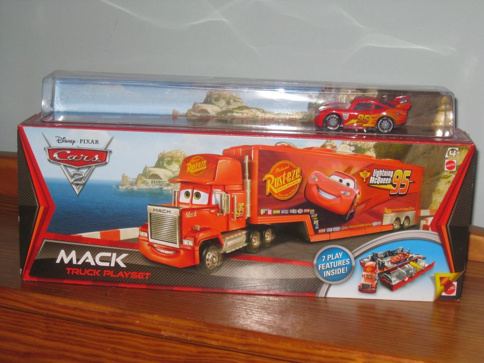 Dan The Pixar Fan Cars 2 Mack Truck Playset