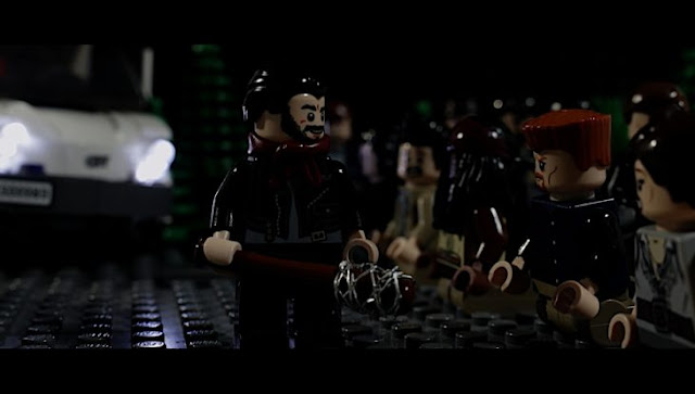 Fan de'The Walking Dead' recrea en LEGO la masacre de Negan