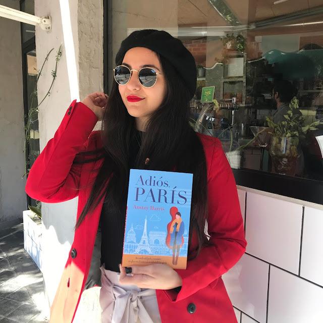Reseña literaria Adiós, Paris de Anstey Harris