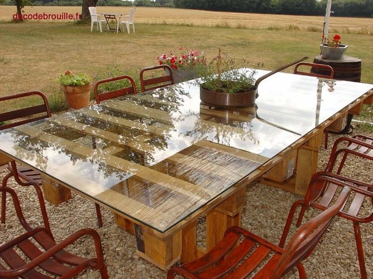35 latest diy pallet projects you want to try immediately - Fabriquer une table a manger en palette ...