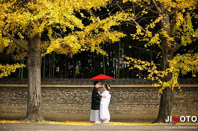 京都前撮りロケーション撮影|紅葉