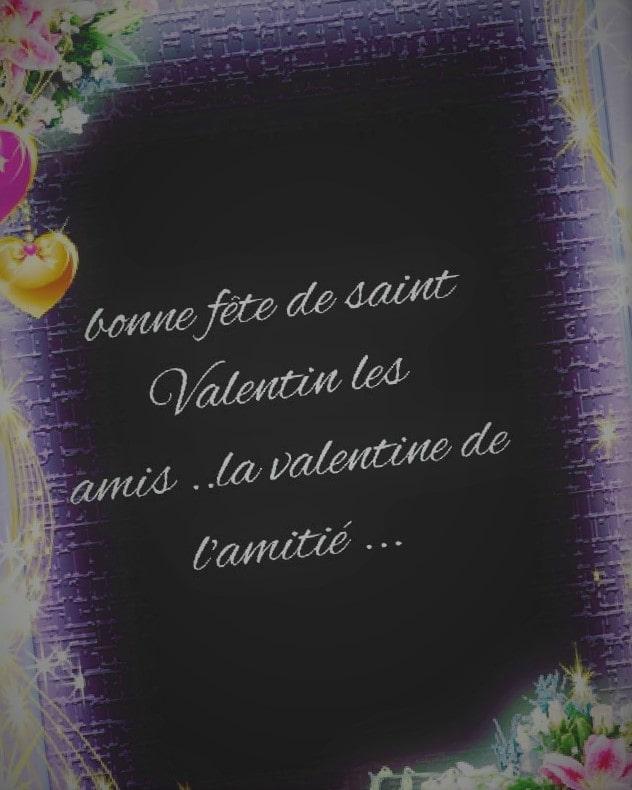 Lettre de la Saint-Valentin d'amitié