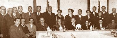 Cena Homenaje a Francesc Armengol i Burgués, 1953