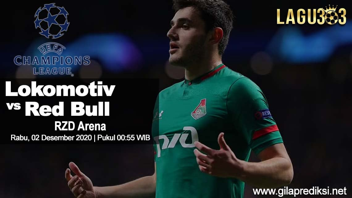 Prediksi Lokomotiv Moscow vs Red Bull Salzburg 02 Desember 2020 pukul 00:55 WIB