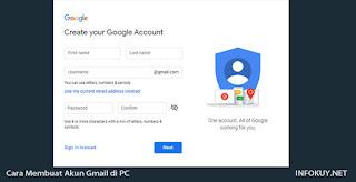 Cara Membuat akun Gmail di PC #1