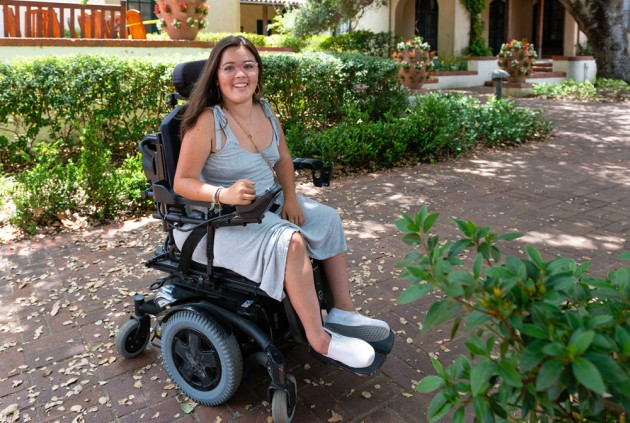 A young woman, a wheelchair and the fight to take her place at Stanford