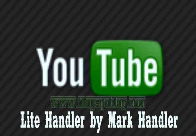 Cara Setting Youtube Lite Handler Android Apk Terbaru