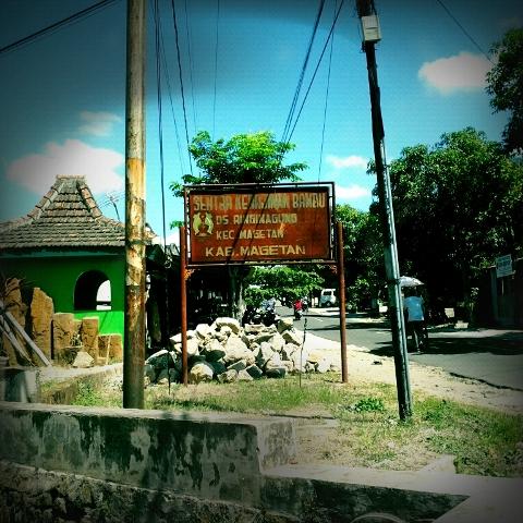 kerajinan bambu magetan
