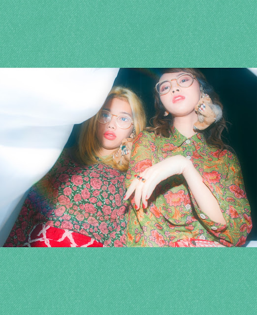 Gege Elisa Haqi Cahya Haqeeu Rainbow Party Magazine Tokyo Japan Korea Seoul BANANA Models YG Kplus