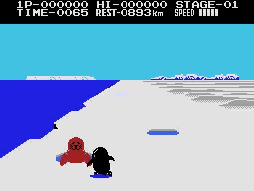 Videojuego Antartic Adventure - MSX