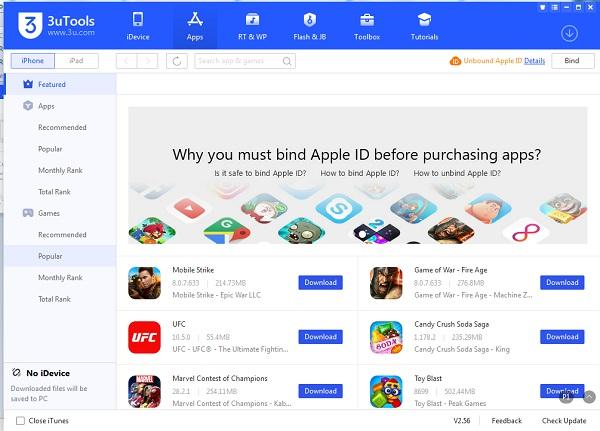 Download 3uTools - Cài đặt 3uTools mới nhất để quản lý iPhone, iPad d