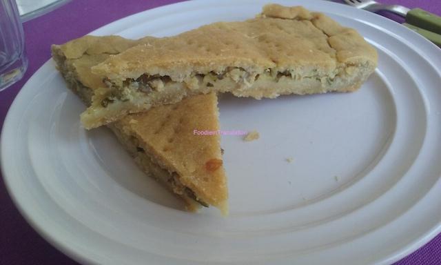 Empanada de bonito - Torta salata con palamita