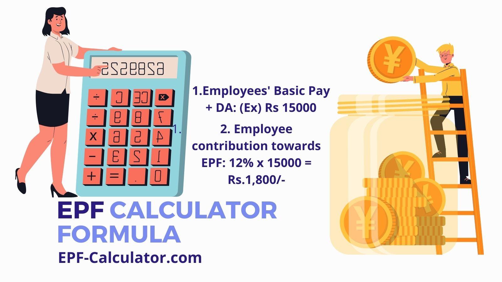 EPF Calculator Formula