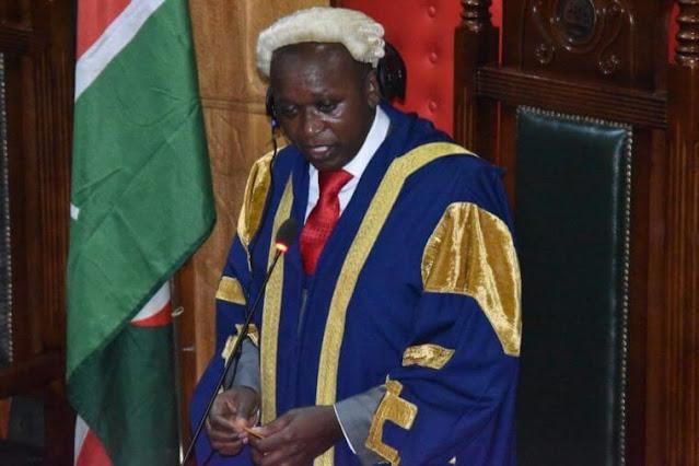 Speaker Benson Mutura photo