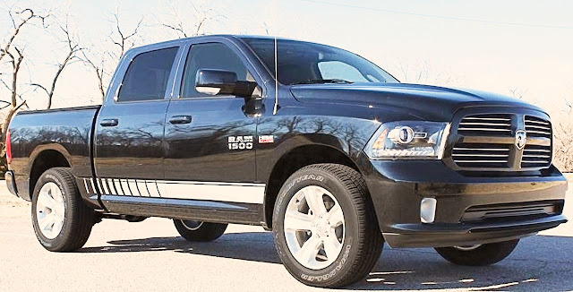 white-stripe-and-emblem-on-black-dodge-ram-1500