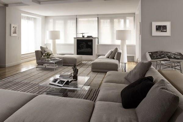 10 fotos de salas grises salas con estilo for Sala color gris