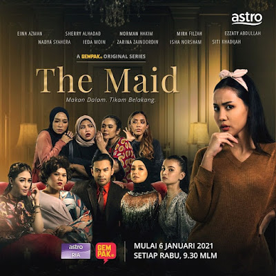 Drama The Maid, Astro Ria, Tonton Drama The Maid, Info dan Sinopsis Drama The Maid, Pelakon - Pelakon Drama The Maid, Poster Drama The Maid, Drama The Maid Full Episode,