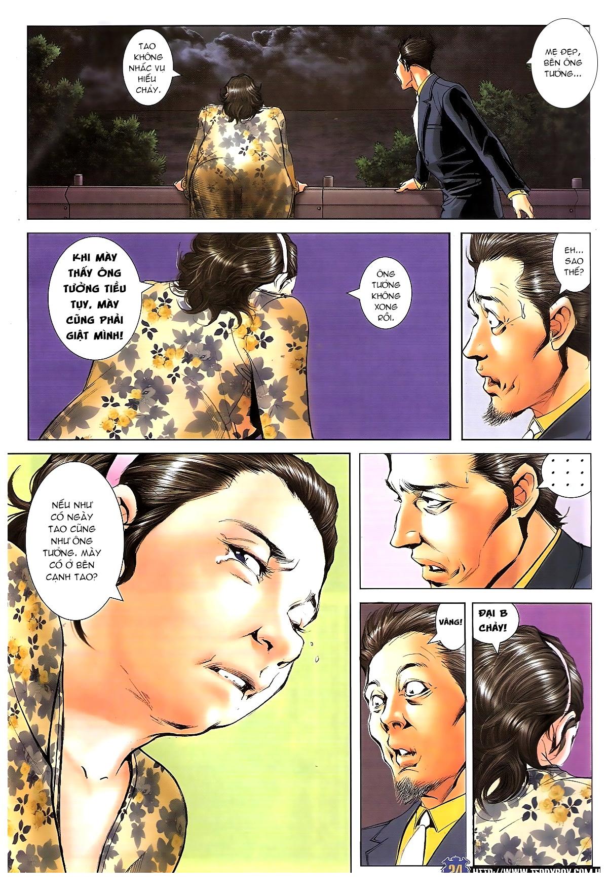 Người Trong Giang Hồ chapter 1642: anh hùng khí đoản trang 23