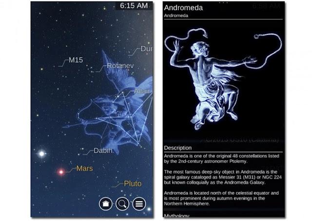 أفضل تطبيقات علم الفلك للأندرويد