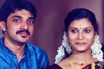 Vishnu Sajini Engagement Moments
