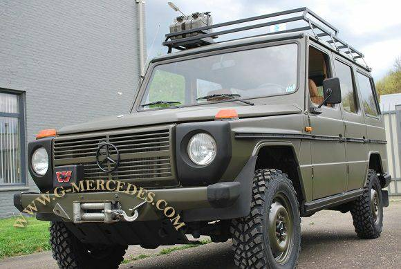 1982 Mercedes Benz G Class 300gd Military 4 Door G Wagon