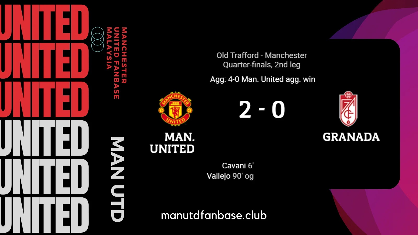 Analysis Man United Lawan Granada UEL Leg 2